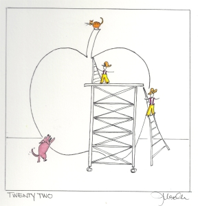Art Apple - Day Twenty two